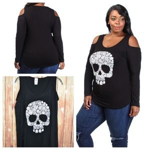 Other - 2X Plus Bundle Skull Floral (4 Items)